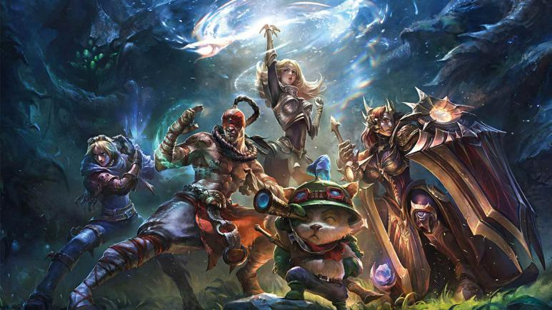 Ein Screenshot von League of Legends
